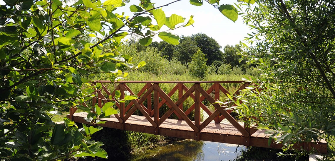 Get closer to nature on our nature trail